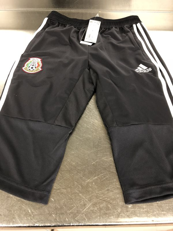 df99ec66356 NEW ADIDAS CLIMCOOL MEXICO 3 4 YOUTH PANTS. SIZE-YLARGE 13 14 for ...