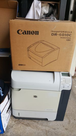Canon scanner and HP LaserJet printer for Sale in Ventura, CA