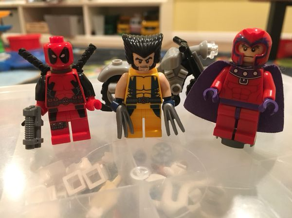 Lego 6866 Wolverine Chopper Showdown With Deadpool For Sale In