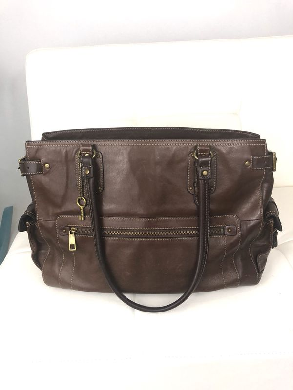 d197014d7 Fossil Leather Handbag/ Laptop Bag for Sale in Olympia, WA - OfferUp