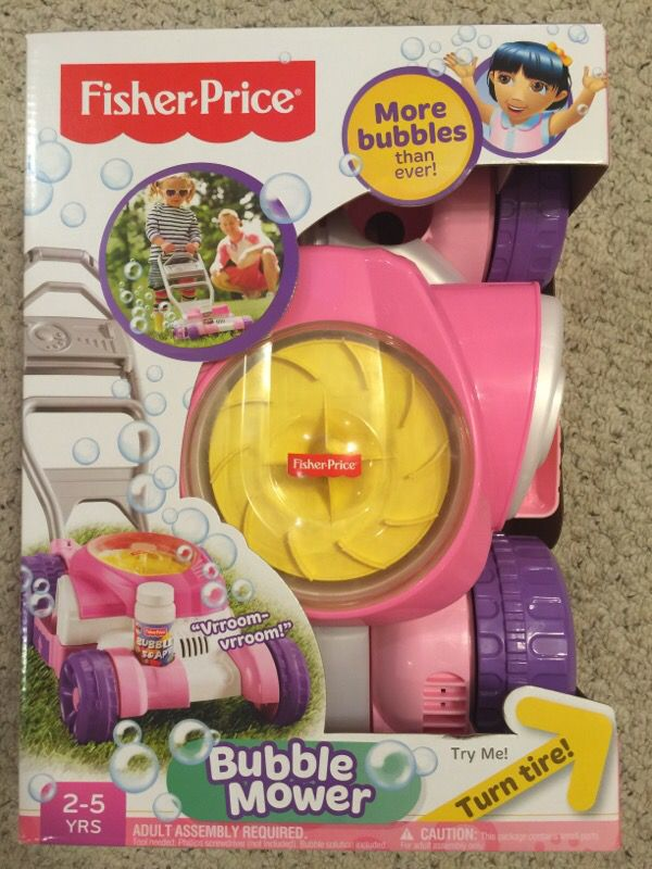 Fisher Price Pink Bubble Mower Toy For Sale In Sunnyvale Ca Offerup