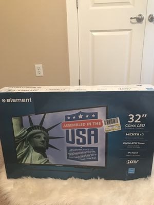 """Brand New 32"""" Tv. Never opened. Still in box. for Sale in Austin, TX"""