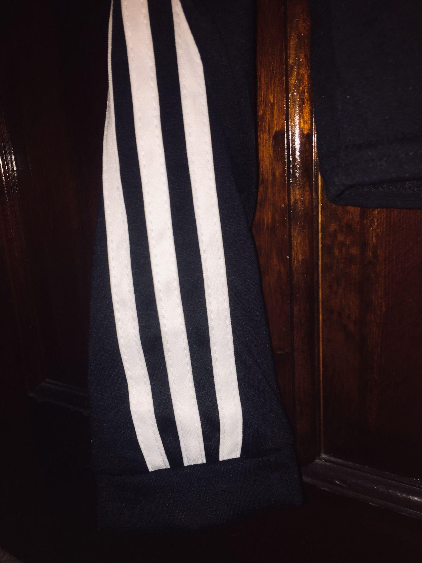 Black & white hooded crop top-tracksuit