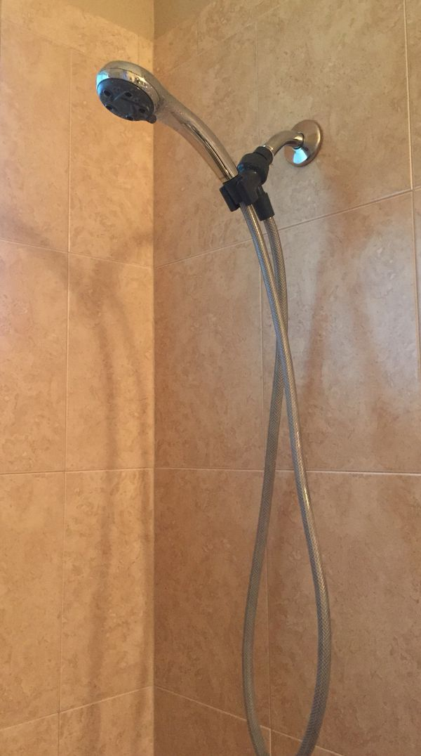 Peerless crome shower head with hose. for Sale in Brandon, FL - OfferUp
