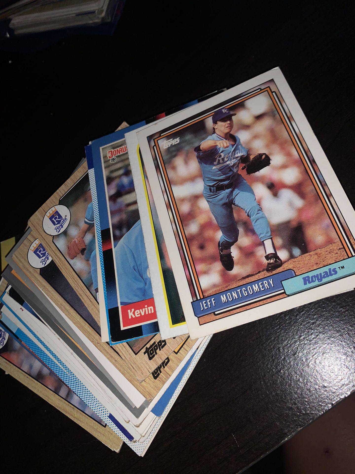 27 Royals Baseball Cards