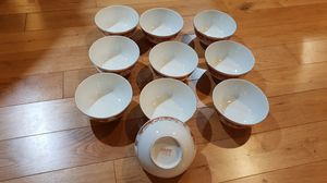 Vintage China bowls from 1980's Hong Kong. for Sale in Tukwila, WA