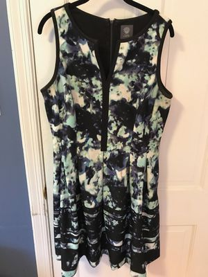 Vince Camuto Watercolor Dress, size 14 for Sale in Washington, DC