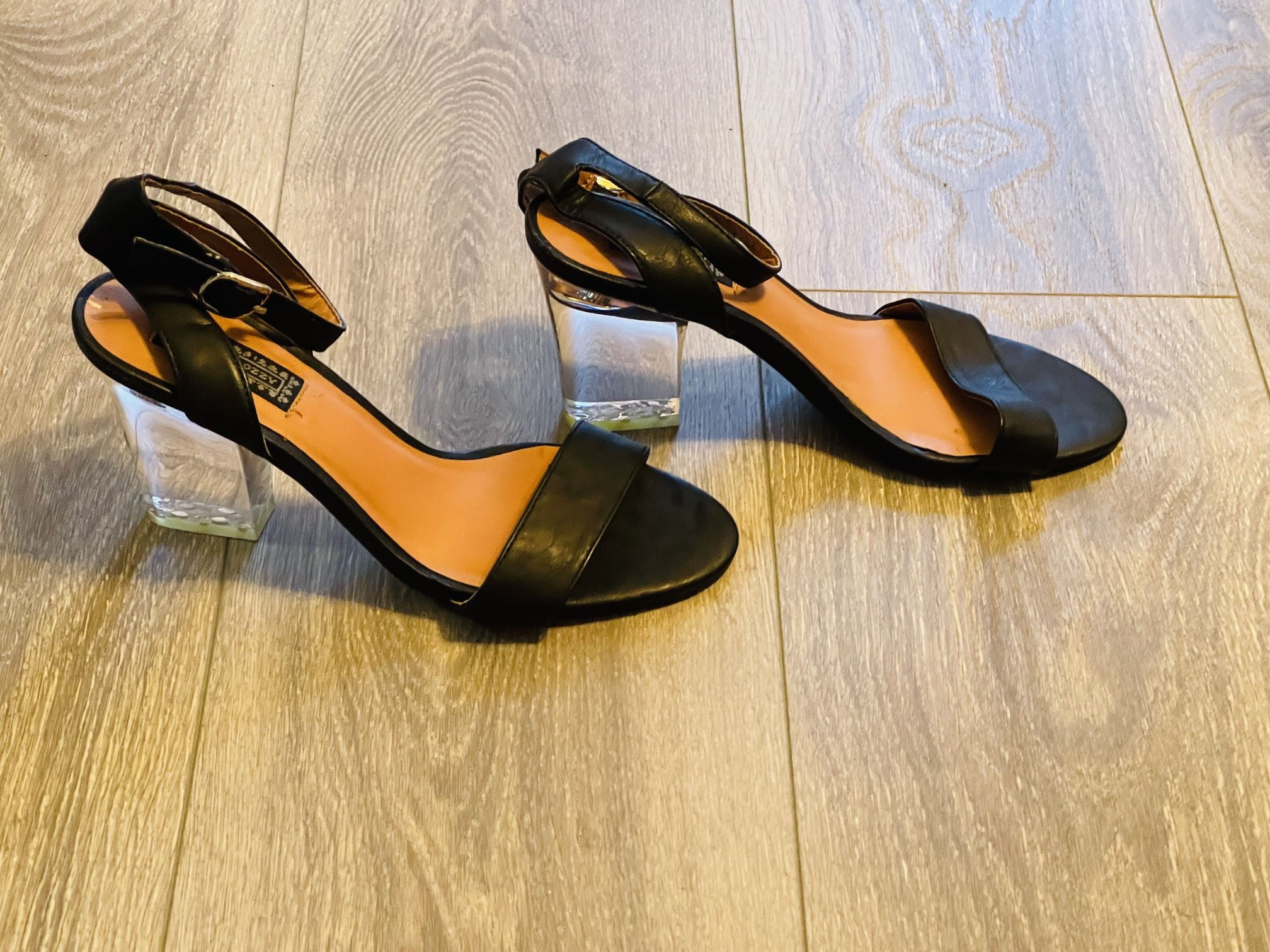 Urban outfitters clear heels.