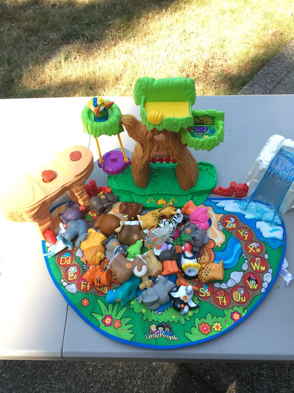 Fisher price little people alphabet animal play set for Sale in ...