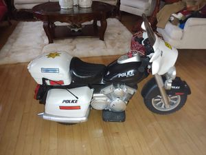 "12V Police Motorcycle Amazon's Choice for ""police motorcycle for kids"" for Sale in Laurel, MD"