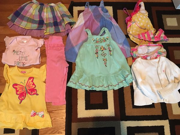 0b585e56ec9fc 12 to 24 months toddler girl summer clothes for Sale in Colorado ...