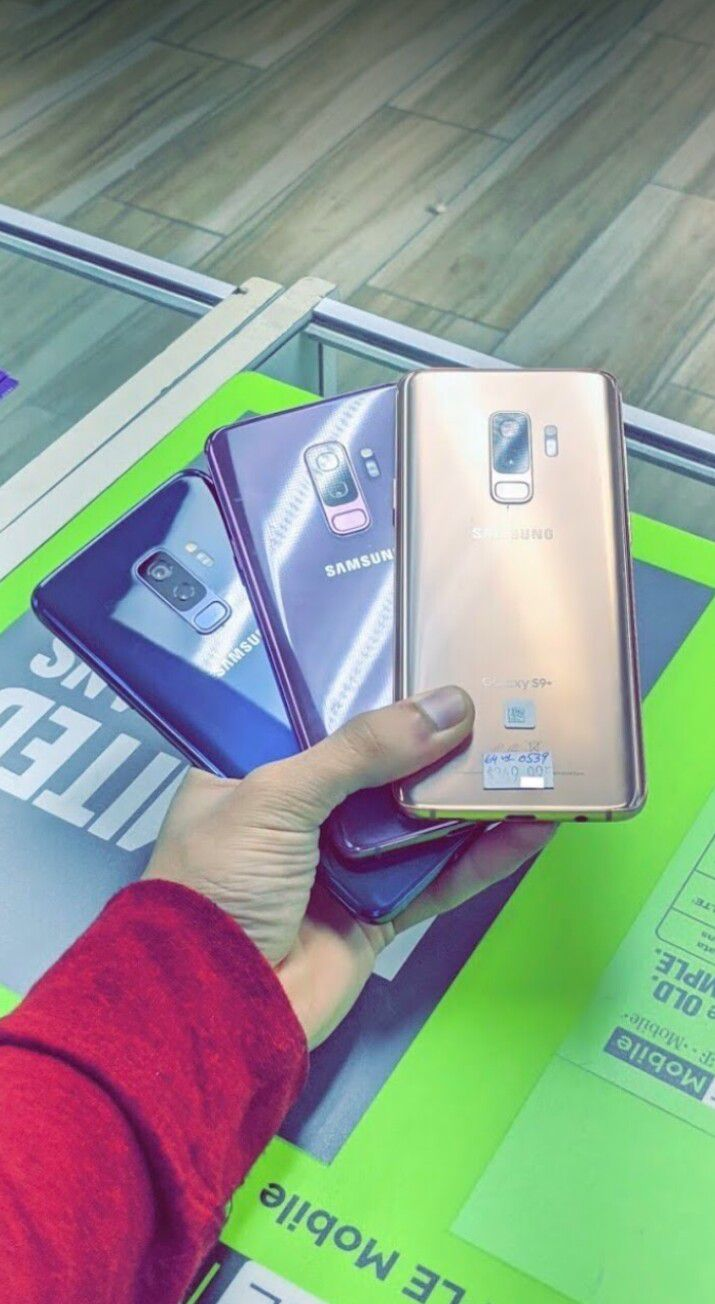 Unlocked Samsung Galaxy S9 Plus, 64gb, Excellent condition, Free charger