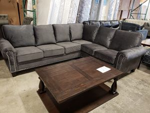 New Dark Gray Ashley Furniture Sectional Tax Included Free Delivery For In Hayward Ca