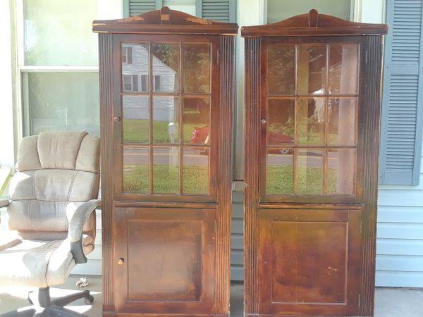 - Old Antique Corner Cabinets (Antiques) In Halethorpe, MD - OfferUp