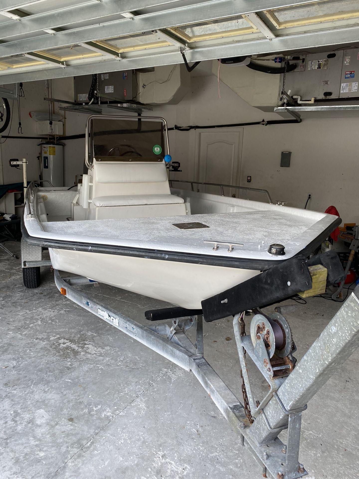 Photo 18 Foot Flats Boat Skiff
