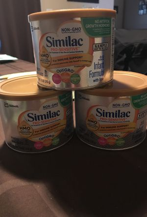 Similac Pro Sensitive 7.6 oz each for Sale in Germantown, MD