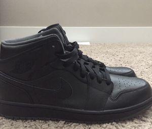 Jordan 1 Size 12 ALL BLACK for Sale in Tampa, FL