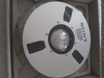 "Sony v1-66 1"" Metal Reel Tape NOS Thumbnail"