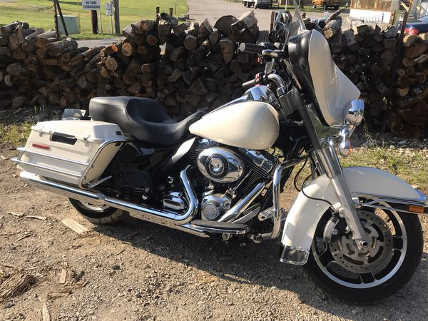 2009 harley flhph police motorcycle