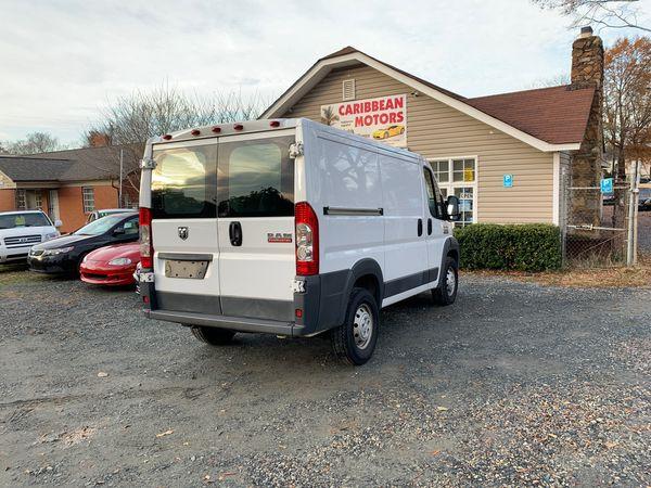 2017 Dodge Ram Promaster Cargo Van 1 Owner For Sale In