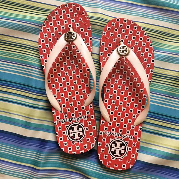f0ff0cf6a Tory burch sandals 9.5 for Sale in Anaheim