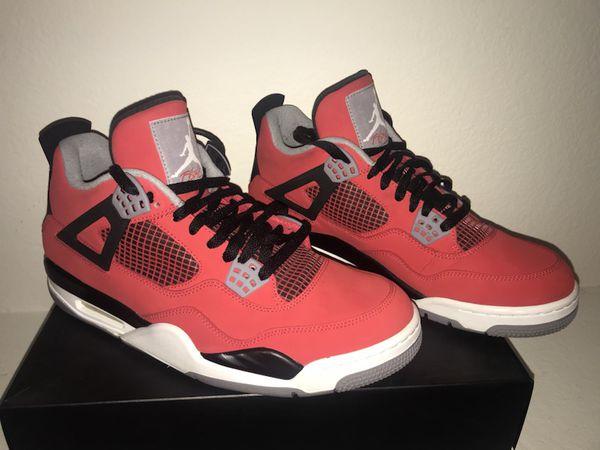 dafe83ba1b297d Air Jordan 4 Retro Toro Bravo Fire red white blk cement grey men s 11.  (Clothing   Shoes) in Henderson