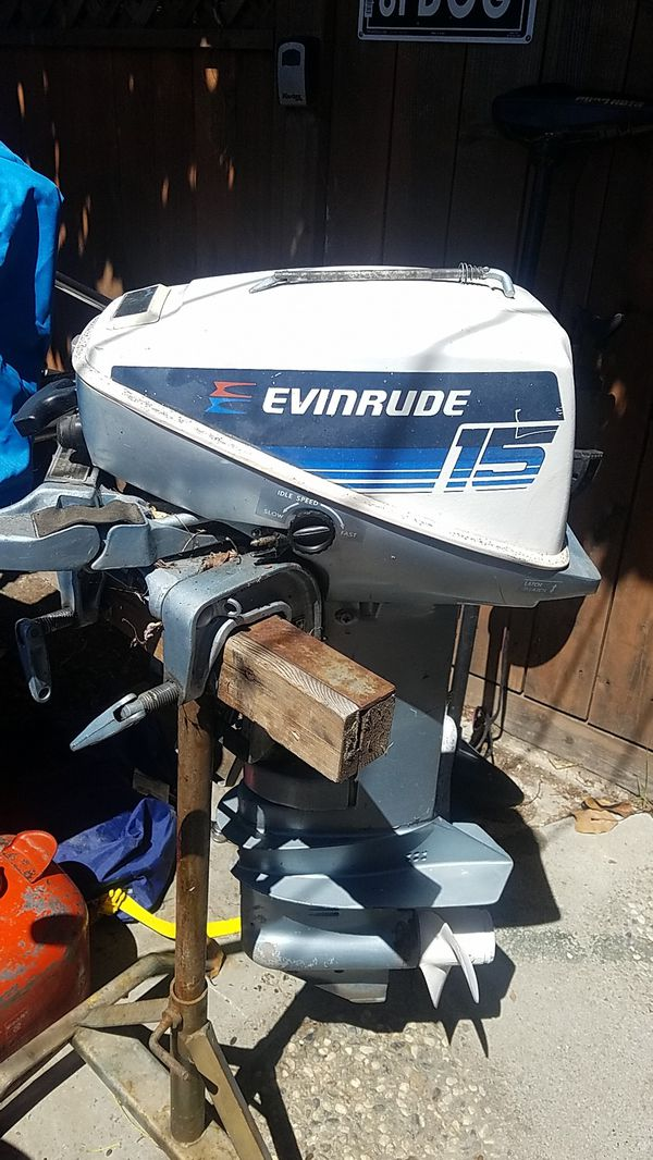 Evinrude 15 Hp >> Evinrude 15 Hp Outboard For Sale In Hayward Ca Offerup