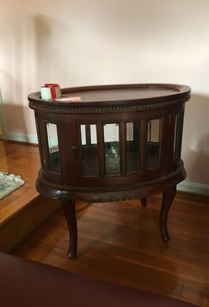 Antique table/showcase for Sale in Tysons, VA