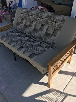 Oak And Black Iron Futon Beautiful Pattern Must See For