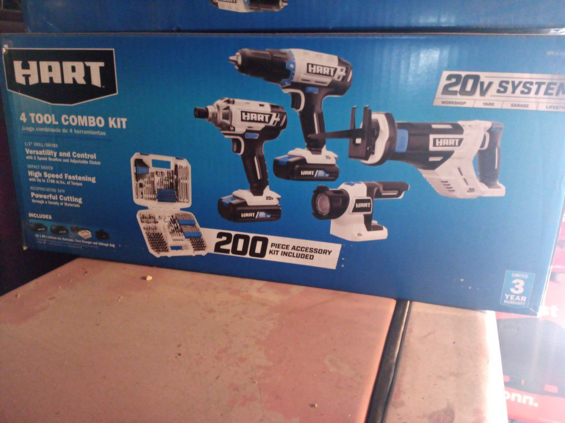 Hart Tool Set Combo