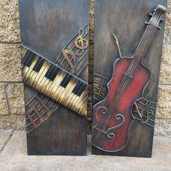 Metal Instruments Wall Decoration  Thumbnail