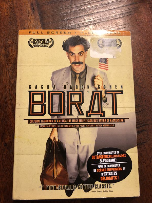 869696e7be Borat  Cultural Learnings of America for Make Benefit Glorious Nation of  Kazakhstan DVD 📀