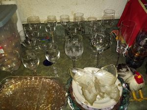 Wine glasses n collectables for Sale in Harrisburg, PA