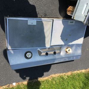 GE Profile range hood, stainless steel for Sale in Ashburn, VA