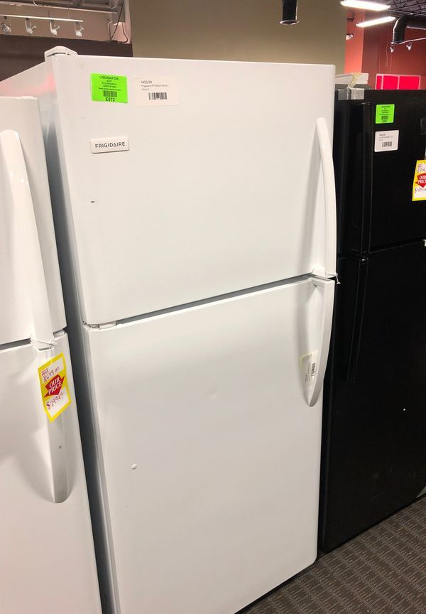 Brand New Frigidaire Top Freezer Refrigerator in White (Model:FFTRTW)
