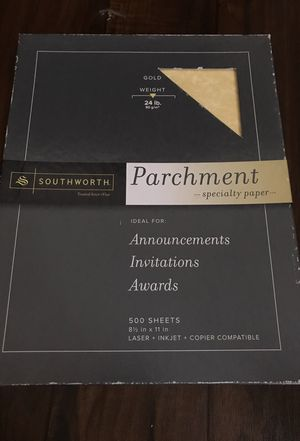 Brand new parchment papers for Sale in San Diego, CA