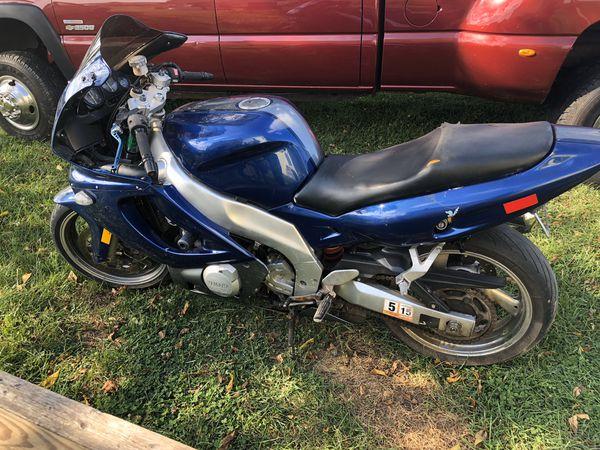 1997 yamaha yzf 600