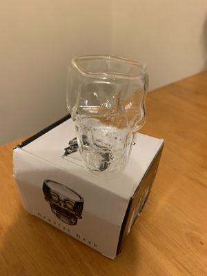 Photo Crystal skull glass