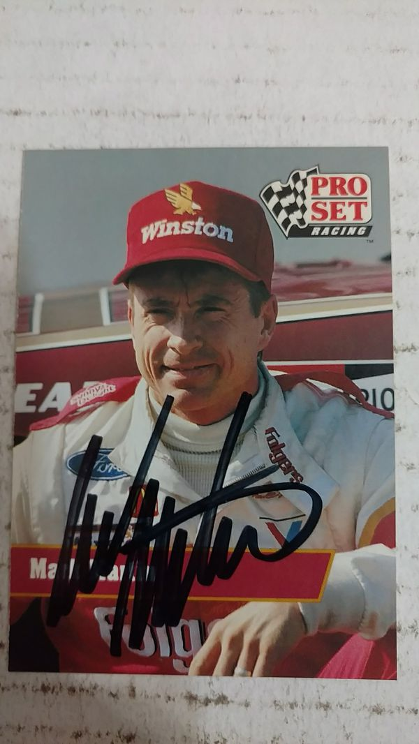 4ae6b407e95 Mark Martin Autograph card for Sale in Jacksonville