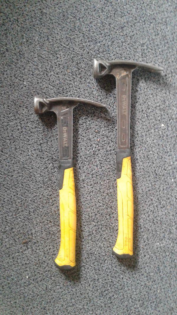 2 dewalt framing hammers for Sale in Seattle, WA - OfferUp