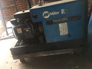 Miller bobcat 225 welder for Sale in Washington, DC