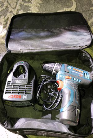 Bosch Drill w/Charger used for Sale in Nashville, TN