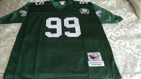3958c1617 Jerome brown Eagles Throwback XL Jersey for Sale in Bensalem