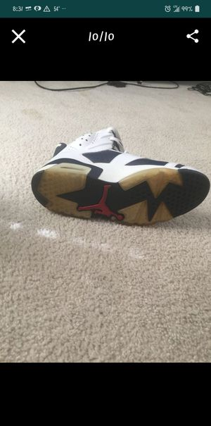Air Jordans 6 Olympic size 10 for Sale in White Plains, MD