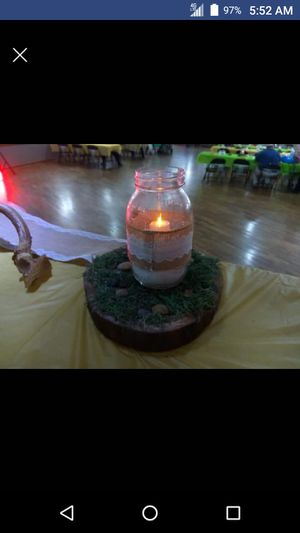 Rustic centerpieces for Sale in Pontiac, MI