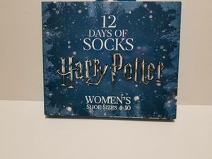 New in box Women's Harry Potter 12 Days of Socks gift set for Sale in Ashburn, VA