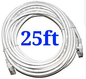 New 25ft cat6 high speed ethernet patch cable for Sale in Chino Hills, CA