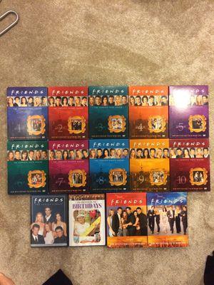 Friends DVDs (seasons 1-10 w/extras!) for Sale in Kensington, MD