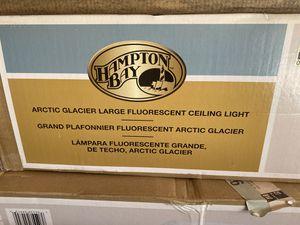 Photo Hampton bay fluorescent shop light garage fixture new basement