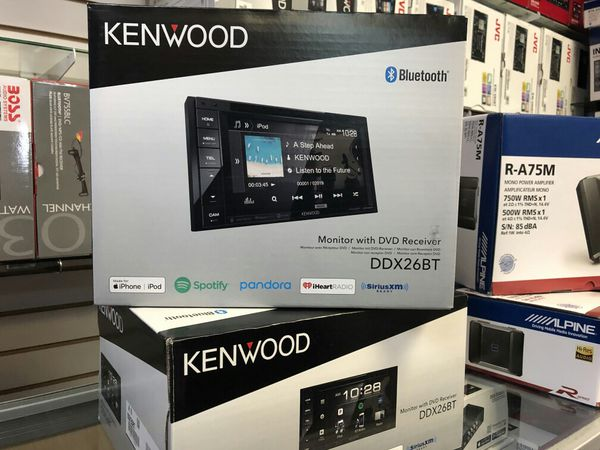 Kenwood ddx26bt double DIN stereo DVD receiver on sale today for only 179  for Sale in Norwalk, CA - OfferUp